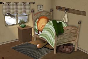 Im Winter schlafen